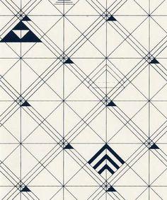 of Dinner Party Wallpaper in Macchiatto design by Jill Malek  Dinner
