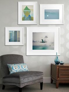 Looking for a unique way to display your art collection? We asked three top designers to share tips to help you create a professional art gallery wall — an eclectic mix of paintings, prints, photographs and other artwork — at home.