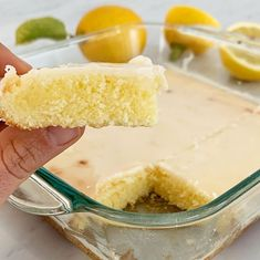 Cuadraditos de limón glaseados Food Pictures, Food Art, Vanilla Cake, Food Photography, Recipies, Healthy Recipes, Dinner, Sweet, Desserts