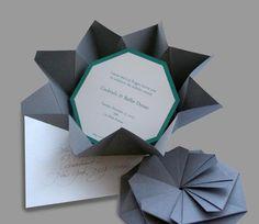 origami invitations - Google Search