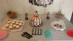Desert table cakes by cutology cakes vintage birthday