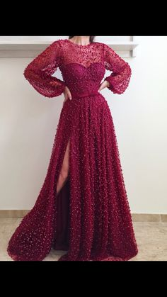 Teuta Matoshi Duriqi gown.