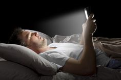 Night time phone use is bad for your body.