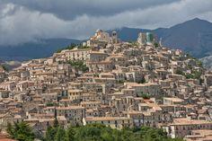Ancient city of Morano Calabro in the Italian Region of Calabria.