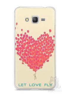 Capa Samsung Gran Prime Deixe o Amor Voar - SmartCases - Acessórios para celulares e tablets :)
