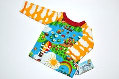 Leguangi's Langarmshirt Größe 56/62 von *Leguangi - Schönes für Mutter und Kind* auf DaWanda.com