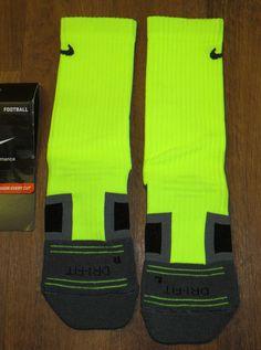 Nike Elite Crew Socks Volt Neon Green