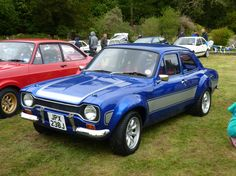 Cumbria Ford RS Owners Club Show with Lakes Tour Rally Escort Mk1, Ford Escort, Ford Rs, Car Ford, Audi Gt, Ford Classic Cars, Automotive Art, Modified Cars, Rally Car