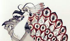 Panda Art, Samurai Jack, Kung Fu Panda, Pretty Birds, Disney And Dreamworks, Emoticon, Peacock, Cartoons, Animation