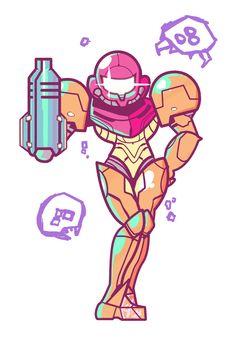 Samus & Metroid.