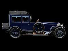 1917 Mercedes-Benz 60HP Open Front Town Car