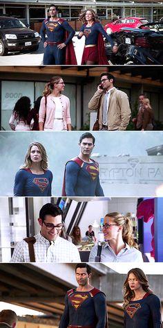 I love you, Kara. I love you too, Kal. #supergirl
