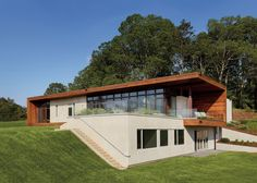 Asheville House in Asheville, N.C. Designed by Eric Gartner of SPG Architects in New York, N.Y.