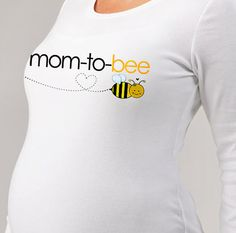 Mom to bee maternity top LONG sleeve pregnancy or pregnancy announcement shirt $27.50