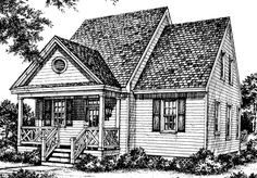 looking for the best house plans check out the forsythia plan from southern living