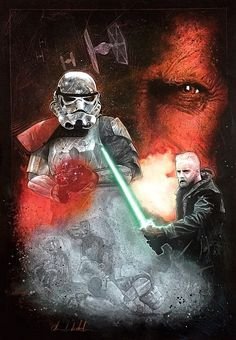 """Lucasfilm and HP teamed up to put on a Star Wars fan art contest called  """"Art Awakens"""" in celebration of J.J. Abrams' upcoming film Star Wars: The  Force Awakens. You can read more about the contest right here, and now  we're starting to see some of the very cool different art styles an"""