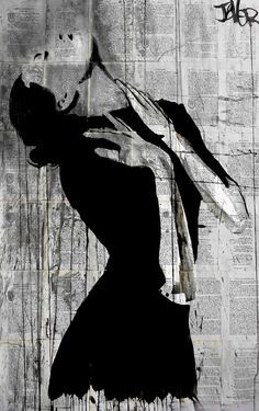 "Saatchi Art Artist Loui Jover; Drawing, ""over"" #art"
