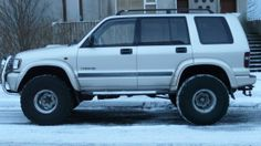 Isuzu Trooper on tires 4x4, The Trooper, Toy Trucks, Offroad, Vehicles, Camping Ideas, Rodeo, Motorcycles, Heaven