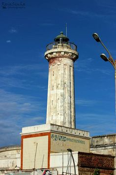 Old Light House #pondy #pondicherry Image by RajaSimha Use #MyPYpic to have your pics featured by us