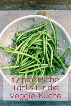 Trick17 in der Küche - hier erfährst Du, wie Du beim Zwiebelschneiden nicht weinst, Avocado-Reife testest, Butter mit Kokosöl ersetzt... #kochen #küche