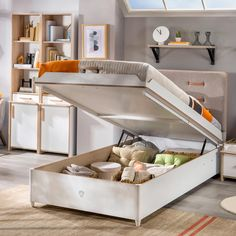 "See our web site for more details on ""modern bunk beds children"". It is actually a superb spot to get more information. Single Beds With Storage, Kids Beds With Storage, Bed Storage, Storage Spaces, Bunk Beds For Boys Room, Kid Beds, Kids Bedroom, Best Changing Table, Baby Crib Mattress"