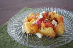 Peach Salad | Vegetarian Casserole Queen