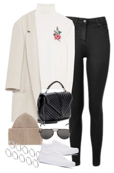 """""""Sem título #1426"""" by oh-its-anna ❤ liked on Polyvore featuring Topshop, Gucci, Zara, Yves Saint Laurent, STELLA McCARTNEY, ASOS and Vans"""
