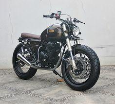 Yamaha Scorpio Scrambler | The Brownie - way2speed