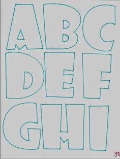Son las letras que más uso para letreros, muy bonitas y redondeadas para mayor impacto. Sirven más para letreros con pequeños objetos de ado... Graffiti Lettering, Brush Lettering, Typography, Bubble Letter Fonts, Alphabet Templates, Alphabet And Numbers, Letter Art, Coloring Pages, Doodles