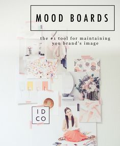 FREE MOOD BOARD TEMPLATE The #1 Tool to Maintain Your Brand's Image