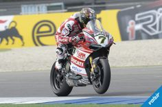 Ducati Superbike Team #7 Chaz Davies, WSBK, TT Assen Circuit, Netherlands