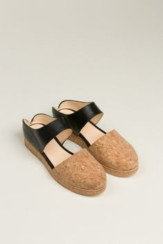 Reality Studio Ana Mules in Black