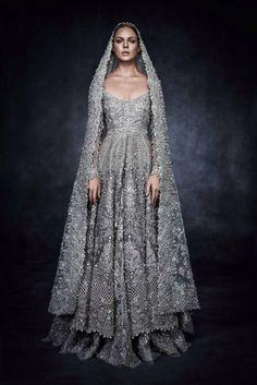 Elan's piece for Swarovski Sparkling Couture Exhibition.
