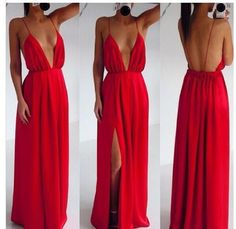 DRESS: http://www.glamzelle.com/products/stroke-of-lust-deep-v-neck-red-maxi-dress