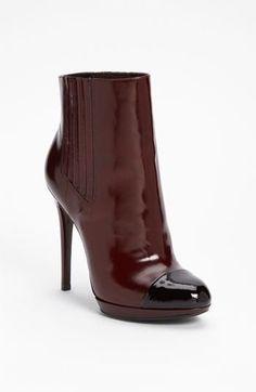 Brian Atwood Shoes Wine/Black Size 8,5 #BrianAtwood #KittenHeels