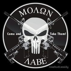 Molon Labe T-Shirt T-shirt from RedBubble New Tattoos, I Tattoo, Tatoos, Tattoo Zone, Molon Labe Sticker, Patriotic Tattoos, Punisher Skull, By Any Means Necessary, Thing 1
