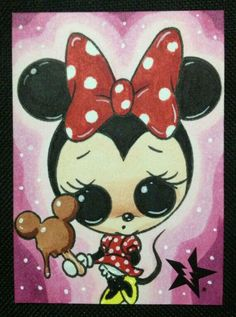 Minnie-Sugar Fueled Art