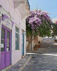 Beautiful Greek Island of Syros in Aegean sea. Mykonos, Cyclades Greece, Santorini Greece, Beautiful World, Beautiful Places, Places To Travel, Places To Go, Greece Islands, Paros