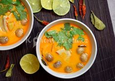 Thajská polévka Tom Kha Gai recept Quiche, Asian Recipes, Ethnic Recipes, Hcg Diet, Thai Red Curry, Toms, Good Food, Food And Drink, Health Fitness