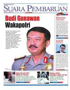 Suara Pembaruan - 21 April 2015 | Budi Gunawan Wakapolri | Suara Pembaruan