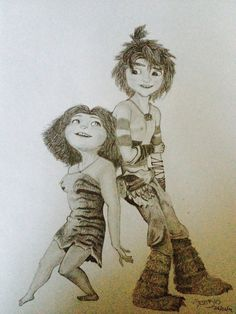 the Croods by Aestibus on deviantART