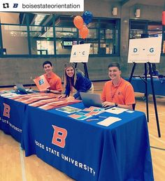 Welcome new #BoiseState Broncos!! Almost time ! #Repost @boisestateorientationKicking off another #BroncoVenture orientation!! We are pumped to welcome home our new Broncos! #boisestate