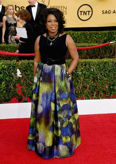 Lorraine Toussaint attends the 21st Annual Screen Actors Guild Awards at The Shrine Auditorium on January 25, 2015 in Los Angeles, California.