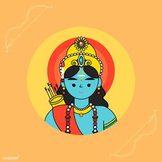 Lord Ram Diwali festival background vector | premium image by rawpixel.com / Techi