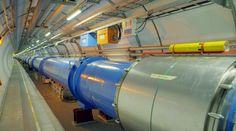Un tunnel al Large Hadron Collider