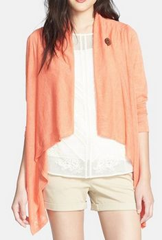 one button asymmetrical cardigan http://rstyle.me/n/mh2w9nyg6