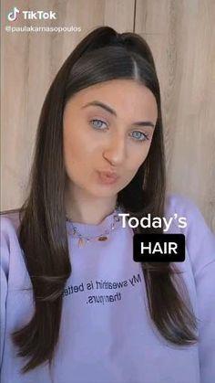 Hair Streaks, Hair Highlights, Hair Up Styles, Natural Hair Styles, Short Grunge Hair, Hair Styler, Cute Hairstyles For Short Hair, Aesthetic Hair, Hair Videos