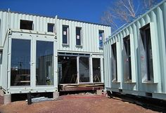 Container house - Flagstaff, Arizona.