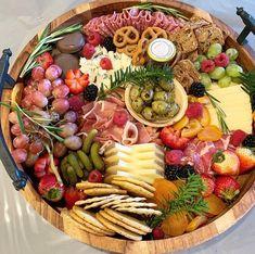 Charcuterie Recipes, Charcuterie Platter, Charcuterie And Cheese Board, Cheese Boards, Cheese Board Display, Ramadan Decoration, Party Food Platters, Dessert Boxes, Fruit In Season