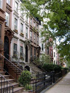Clinton Hill Brooklyn has amazing stone buildings! (still love my old 'hood!)